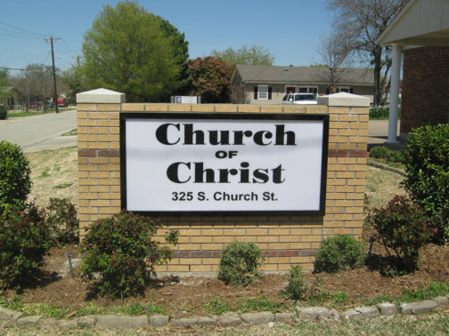 Church Signs Dallas Custom Signs Dallas Hancock Sign