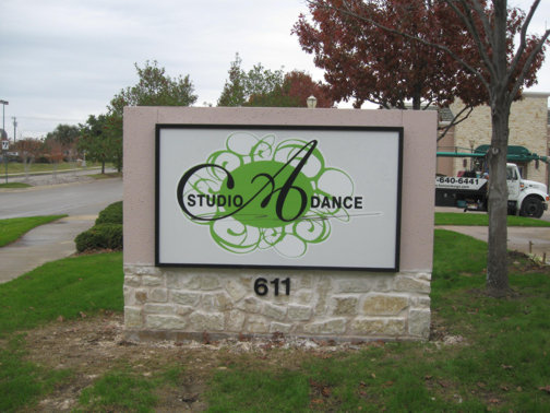 Monument signs for Brick sign designs